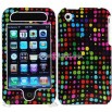 iPhone 3G/3GS Color Dots Design Protector Case