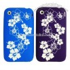 iPhone 3G/3GS Laser-cut Hibiscus Skin Case