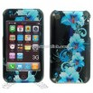 iPhone 3G Blue Flower Snap-on Protective Cover