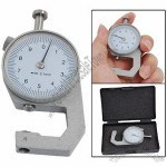0 to 10mm Dial Thickness Gauge Arabic Numerals Display Measurement Tool