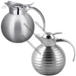 0.8L/1.2l Double Wall Stainless Steel Vacuum Coffee Pot