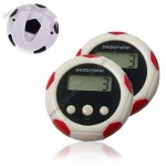 0.9' LCD Clip-on Football Pedometer with 3 key Time/Distance/Calories