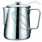 1,000mL Stainless Steel Milk Jug with Lid/Frothing Pitcher