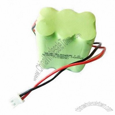 1,200mAh 9.6V Ni-MH Rechargeable Battery Pack with CE, MSDS, TUV Marks