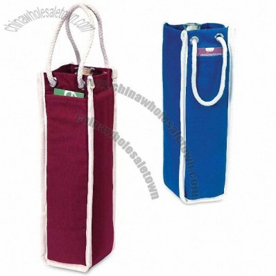 1 Bottle Insulated Cotton Wine Bag