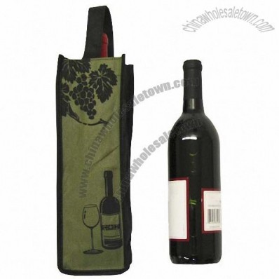 1 Bottle Non Woven Reusable Wine Bag