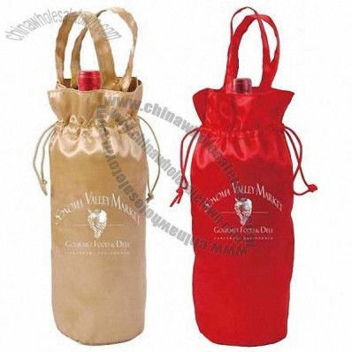 1 Bottle Satin Wine Sack