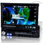 1 DIN Android Car DVD with 7 Inch Touchscreen, GPS, 3G, DVB-T, WiFi