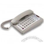 1-Line Economy Guestroom Telephone with Speakerphone