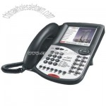 1-Line Telephone with Interactive Touch-Screen HTML Interface