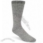 1 Pair - Grey - Size 10-13 Boot Socks