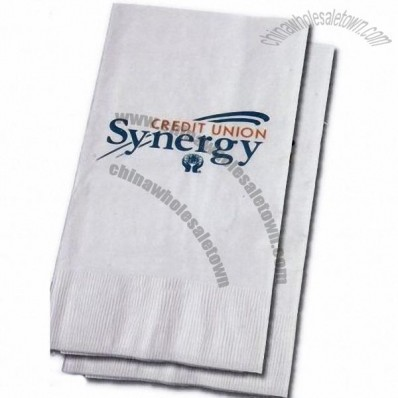1 Ply High Volume White Dinner Napkin
