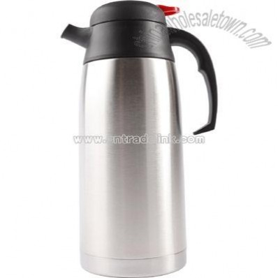 1.1 liter trimline style stainless steel insulated beverage server