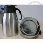 1.2L Double Wall Stainless Steel Vacuum Coffee Pot