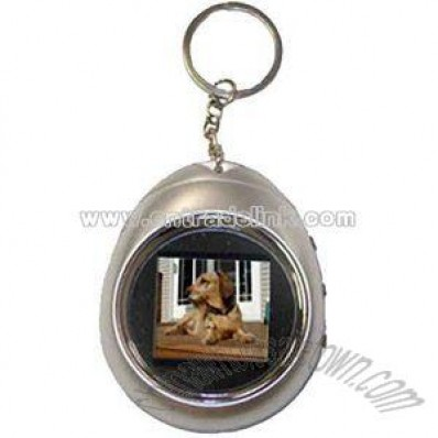 1.5 digital photo frame keychain