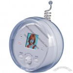 "1.5"" digital photo frame with FM radio"