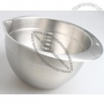 1.5L Stainless Steel Egg Mixing Bowl with Ticks