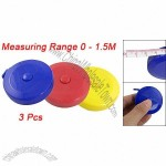1.5M Sewing Tailor Retractable Ruler Tapes Measure Tool