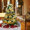 1.8m Gold Christmas Tree Set