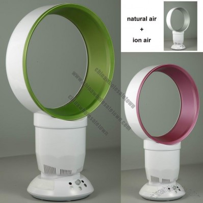 10/12 Inch Bladeless Fan with Natural air and Warm air