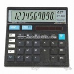 10 Digits Desktop Calculator with Dual Power and 99 Steps Check Function