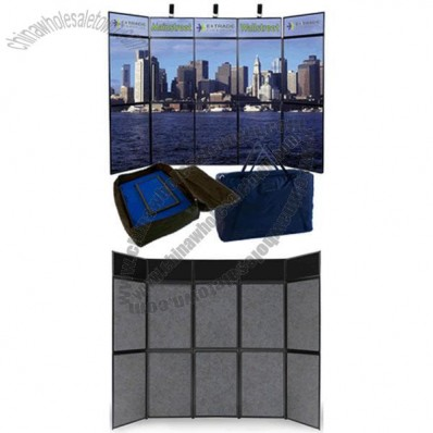 10' Full Graphic Prestige Panel Floor Display