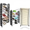 10 Tiers Shoe Rack Organizer with Cover