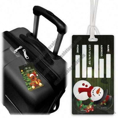 10 and 20 Norwegian Krone Open-Trolley Luggage Tags