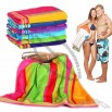 100% Cotton Plush Velour Harbor Beach Towel - 30