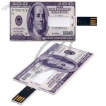 100 Dollar Card USB Flash Drives