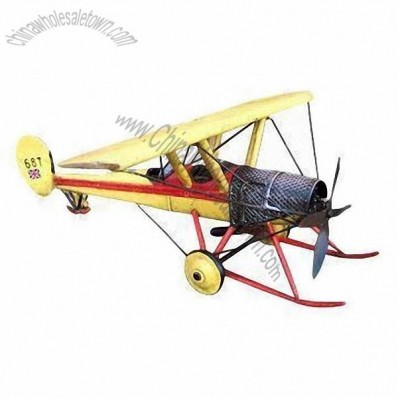 100% Handmade Old-fashioned Aerocraft Model
