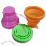 100% Silicone Collapsible Cups