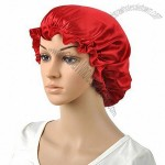 100% Silk Luxury Waterproof Shower Cap