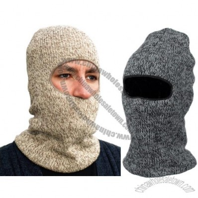 100% Wool Face Masks - Assorted Colors