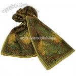 100% Wool Printted Oblong Scarf