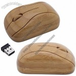 1000DPI Wireless Bamboo Mouse