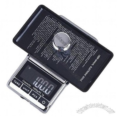 1000g x 0.1g 1kgx0.1g LCD Pocket Digital Jewelry Scale