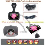 1080P Full HD 2.7inch Automobile Driving Recording