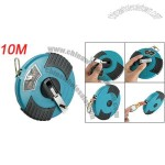 10M Fiberglass Rolling Reel Measuring Tape Measurement Tool
