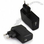 10W Power Adapter with 100-240V AC, 50/60Hz Input Voltage, Short-circuit Protection