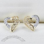 10k Gold Diamond Earrings
