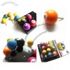10pcs Novelty Billiard Pool Push Pin Shaped ThumbTack