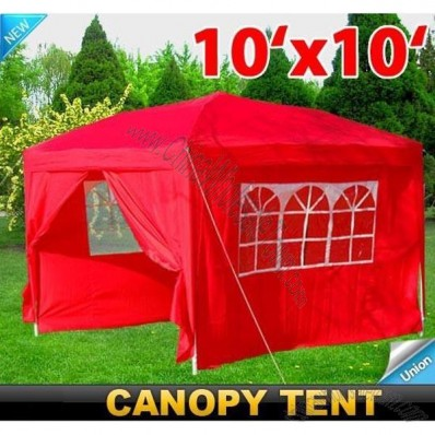 10x10 Outdoor Gazebo Pop up Party Wedding Tent