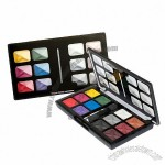 12-Color Eye Shadow With Double Ended Brusher