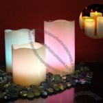 12 Colours LED Flameless Wax Candle Set