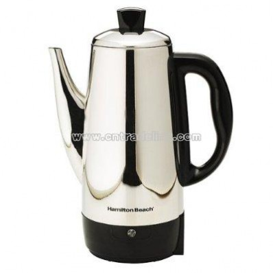 12-Cup Chrome Percolator