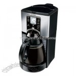 12-Cup Programmable Coffeemaker - Stainless Steel