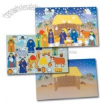 12 Design Your Own! Giant Nativity Sticker Scenes