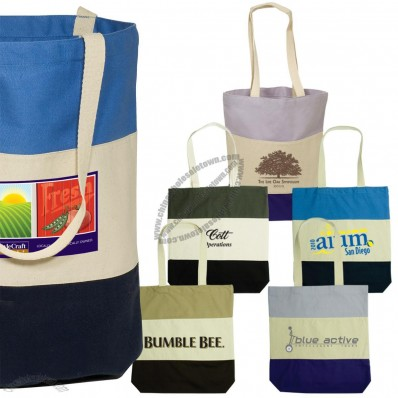 12 Oz. Cotton Promotional Walkabout Tote Bag
