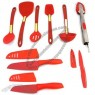 12 Piece Silicone Tool And Knife Set